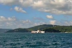Navire à vapeur de Bosphorus Photographie stock