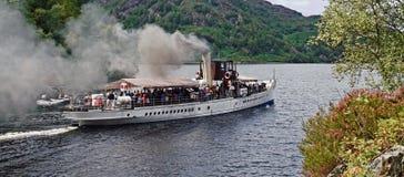 Navire à vapeur de monsieur Walter scott Image libre de droits