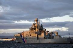 Navire amiral de la garde côtière islandaise Photographie stock