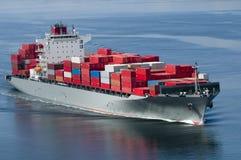 Navire porte-conteneurs Photos libres de droits