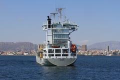 Navire porte-conteneurs Images libres de droits
