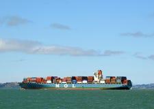 Navire porte-conteneurs San Francisco Bay Photo stock