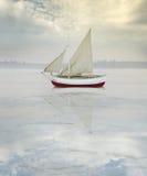 Navire solitaire photographie stock libre de droits