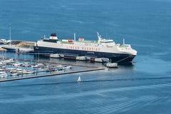 Navire Suar Vigo de transporteur de voiture Images libres de droits
