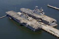 Navires à San Diego Images libres de droits