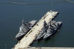 Navires à San Diego Photographie stock libre de droits