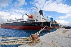 Navires de charge photographie stock libre de droits