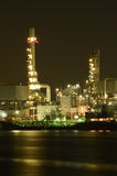 navodari night oil refinery romania Στοκ Εικόνες