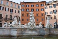 Navona ajustent, Rome, Italie, Piazza Navona images stock