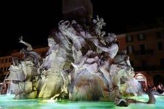 Navona-Brunnen stockfoto