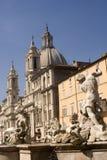 navona piazza Zdjęcie Stock