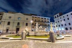 navona piazza Rome Włochy Zdjęcia Royalty Free