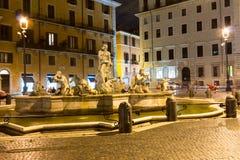 navona piazza Rome Włochy Zdjęcie Royalty Free