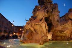 Navona, Roma Fotografia Stock Libera da Diritti