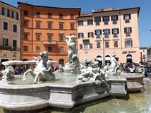navona Rome kwadrat fotografia stock