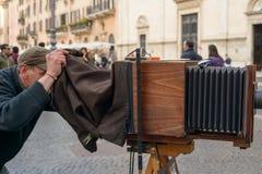 navona Rome kwadrat Zdjęcia Royalty Free