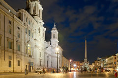 Navona square Royalty Free Stock Image