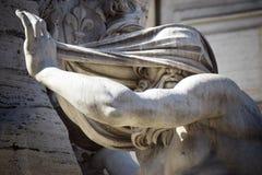 Navona square bernini sculture stock photo