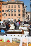Navona Square in Rome Royalty Free Stock Images