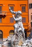 Navona Square in Rome, Italy. Cityscape and generic architecture from Rome, the Italian capital. Navona Square royalty free stock photography