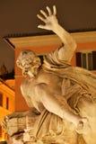 navonapiazza rome Arkivbilder