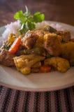 Navratan Chicken Korma Stock Images