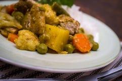 Navratan Chicken Korma Royalty Free Stock Images