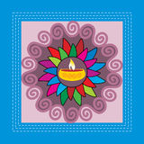 Navratra concept Stock Images