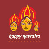 Navratra concept Royalty Free Stock Images