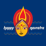 Navratra concept Royalty Free Stock Photo