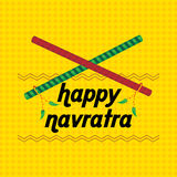 Navratra concept Stock Photography