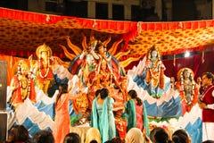 Navratra festival stock photos