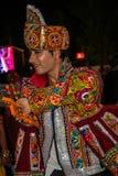 Navratri-Festival, Gujarat, India-4 Lizenzfreie Stockbilder