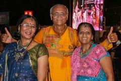 Navratri-Festival, Gujarat, India-9 Stockfotos