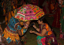 Navratri festival, Gujarat, India-11 Royalty Free Stock Images