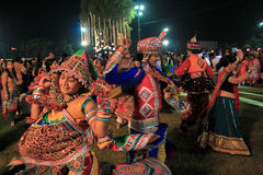 Navratri festiwal, Gujarat, India-10 Obrazy Stock