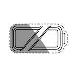 Navulbare Eletricbatterij vector illustratie
