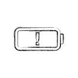 Navulbare Eletricbatterij stock illustratie