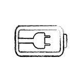 Navulbare Eletricbatterij royalty-vrije illustratie