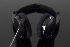 Navulbare stereohoofdtelefoons Royalty-vrije Stock Foto