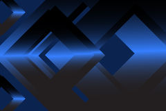 Navy blue abstract geometric background Stock Image