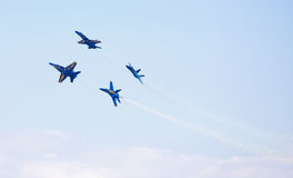 NAVY Blue Angel Fighter Jets Stock Photo