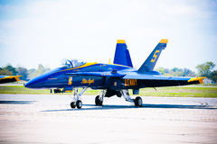 NAVY Blue Angel Jet Royalty Free Stock Image
