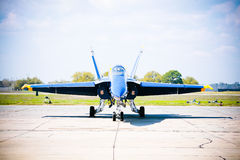 NAVY Blue Angel Jet Royalty Free Stock Photos