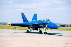NAVY Blue Angel Jet Stock Images