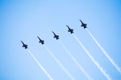 NAVY Blue Angel Jets Stock Photos