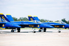 NAVY Blue Angels Stock Images