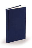 Navy blue book - clipping path Stock Photo