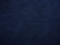 Navy blue canvas fabric stock photos