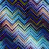 Navy blue chevron pattern Stock Photography
